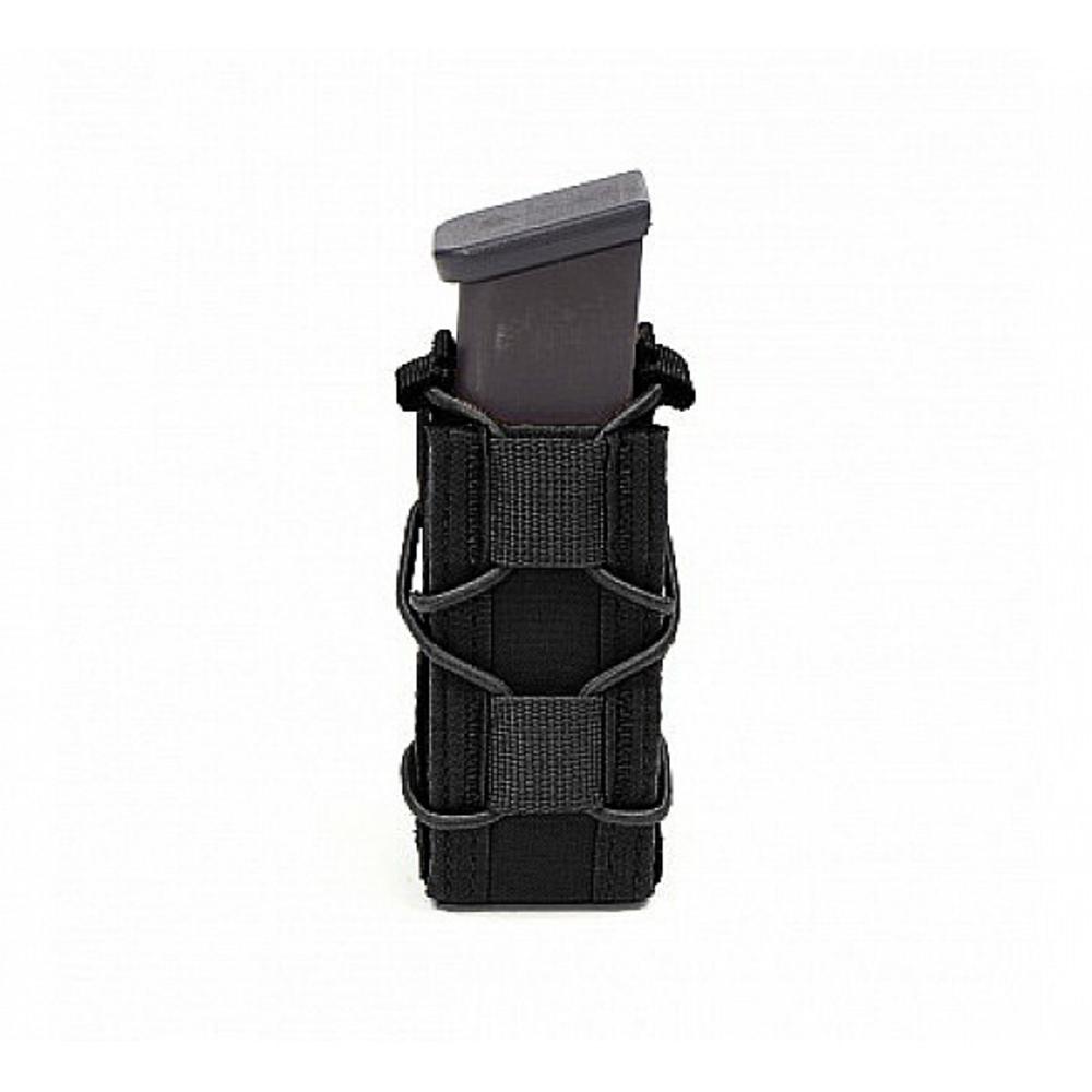 Warrior Single Quick Mag for 9mm Pistol Black