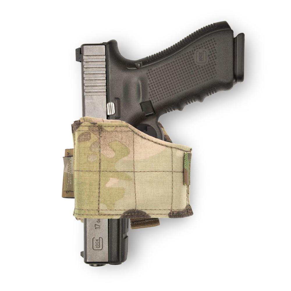 Warrior Universal Pistol Holster Left Hand MultiCam