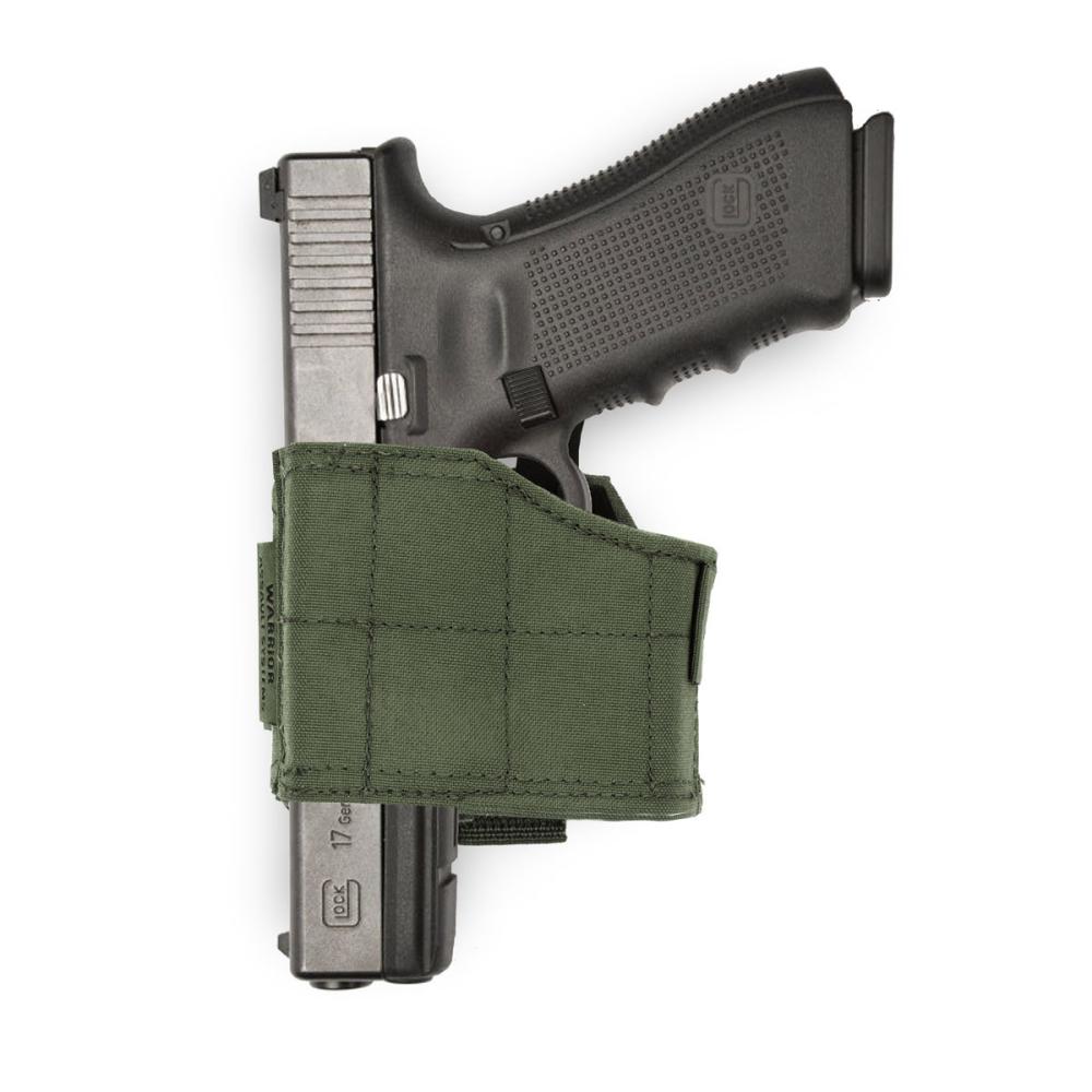 Warrior Universal Pistol Holster Left Hand Olive Drab