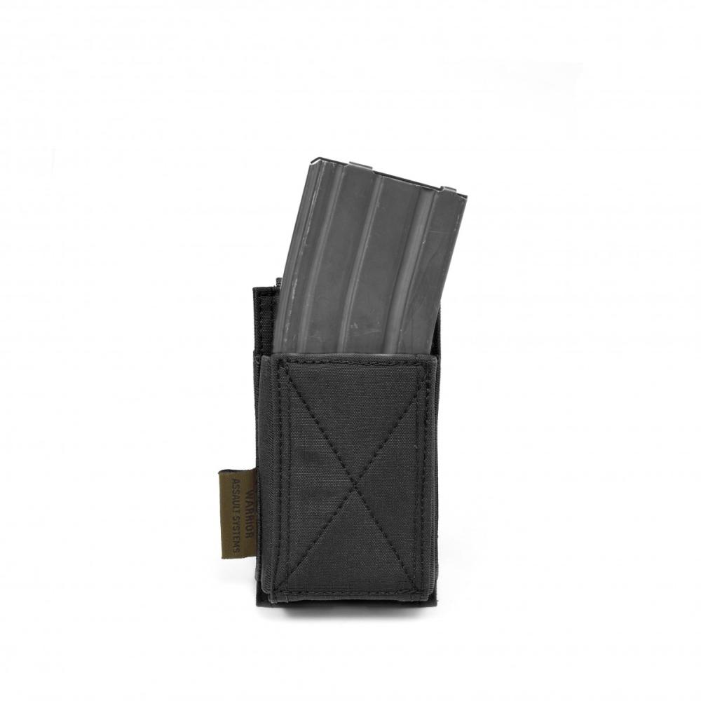 Warrior Single Elastic Mag Pouch Black
