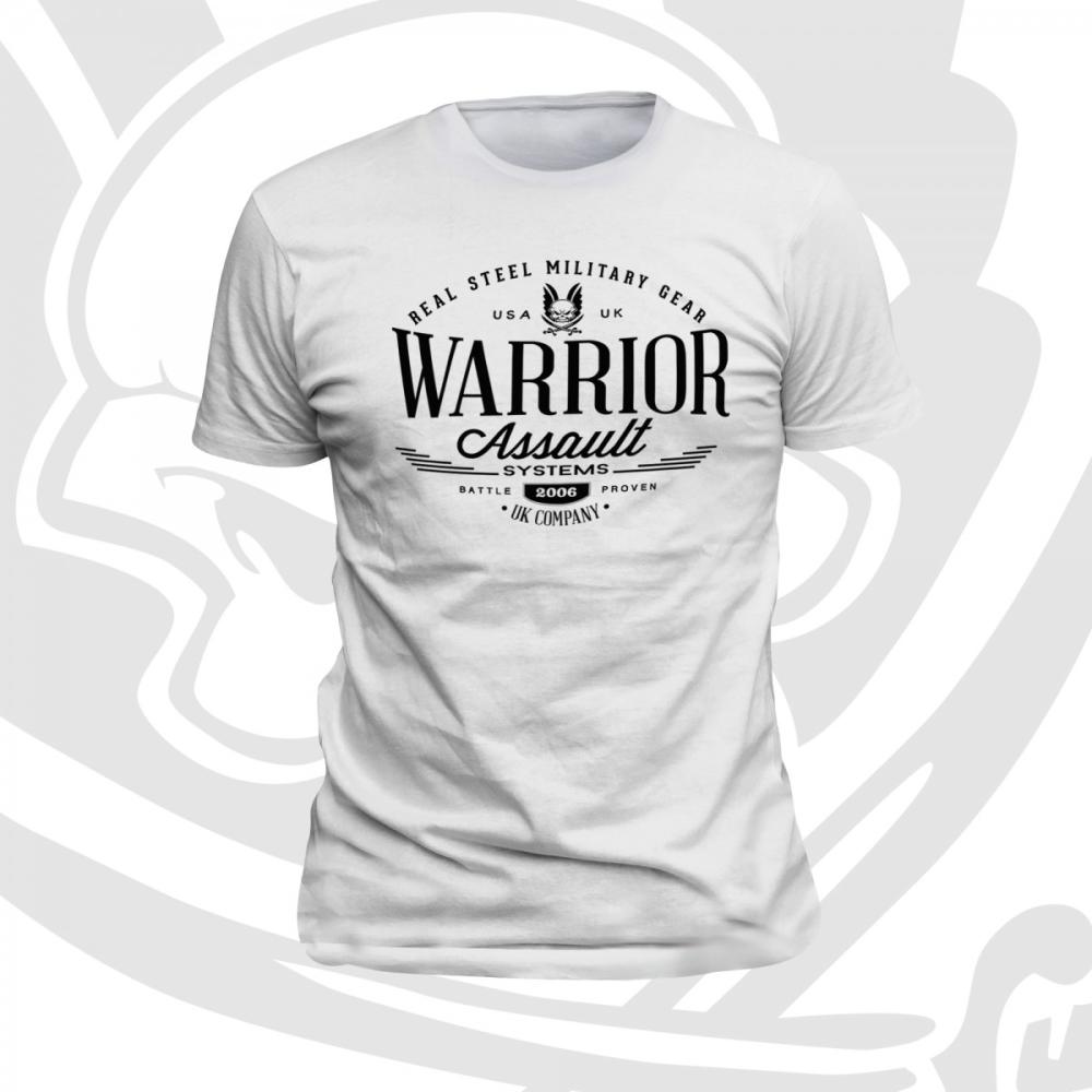 Warrior Vintage T-Shirt White