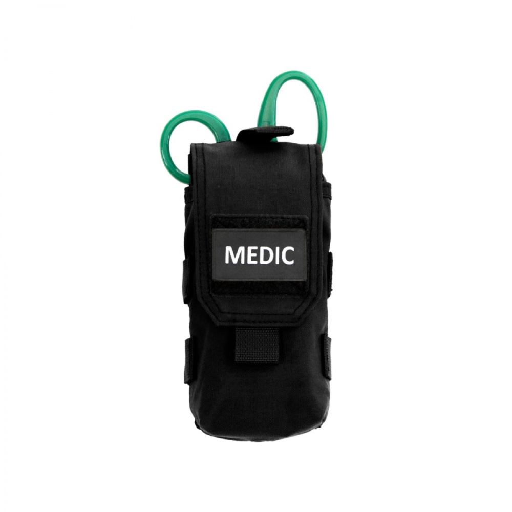 Warrior Individual First Aid Pouch Black