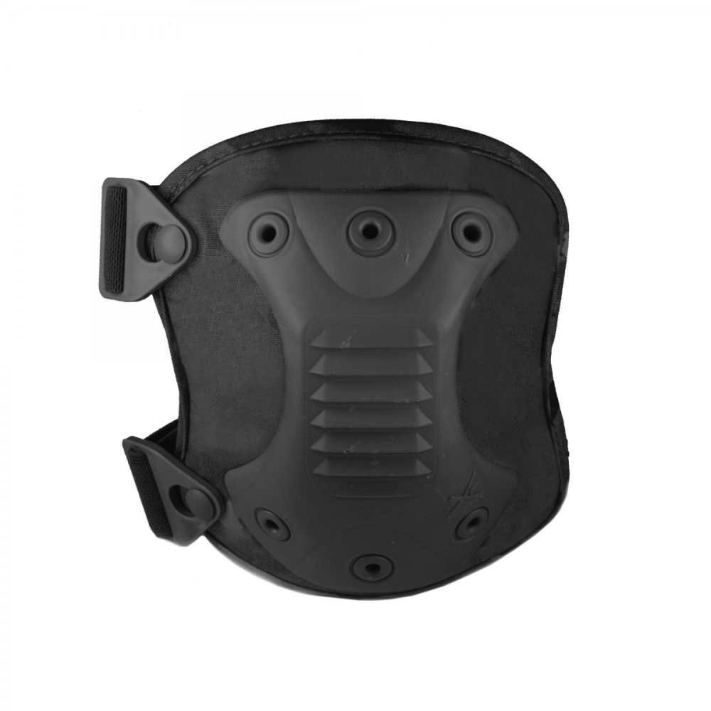 Source Knee Pads (Pair) With Carry Bag Black