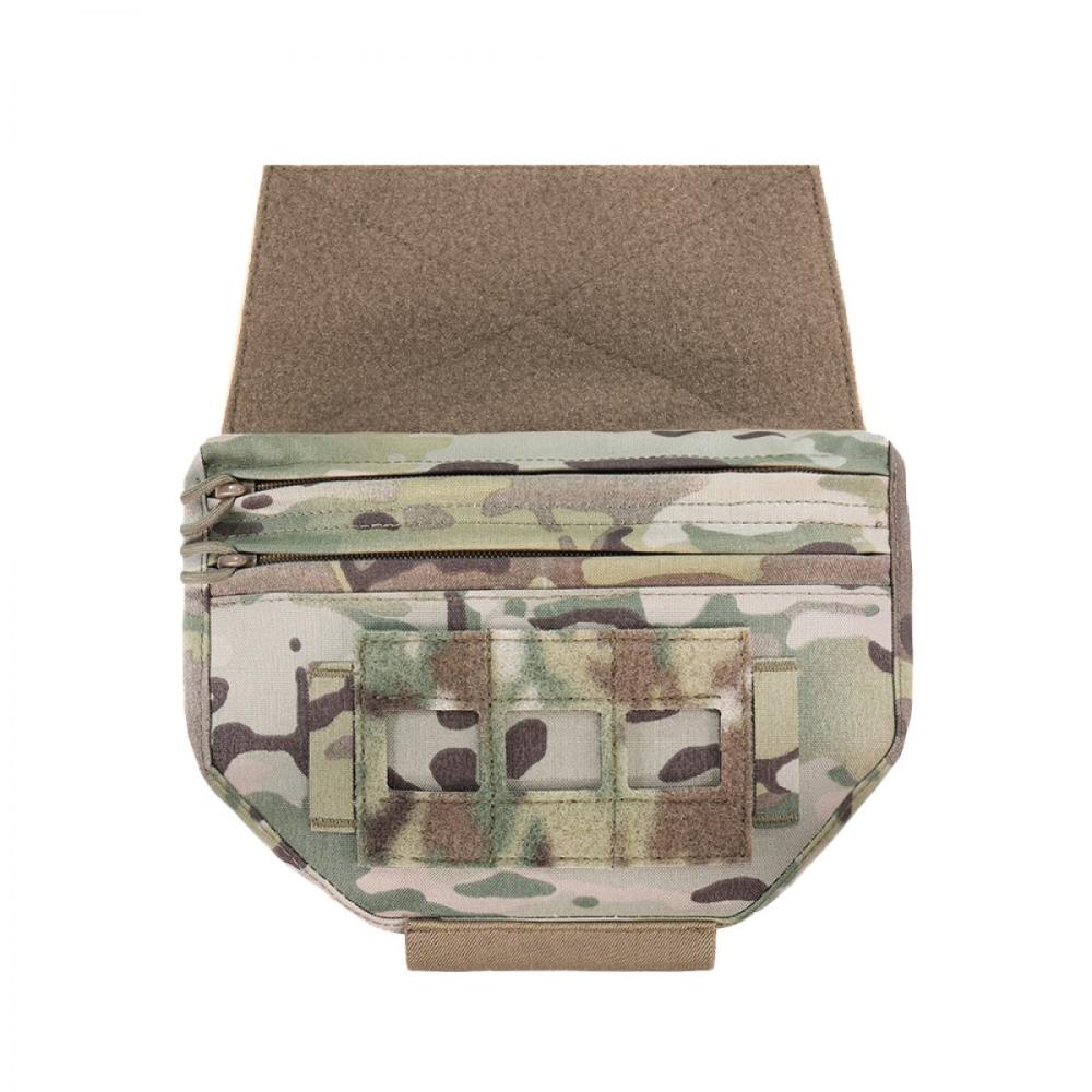 Warrior Laser Cut Drop Down Velcro Pouch MultiCam