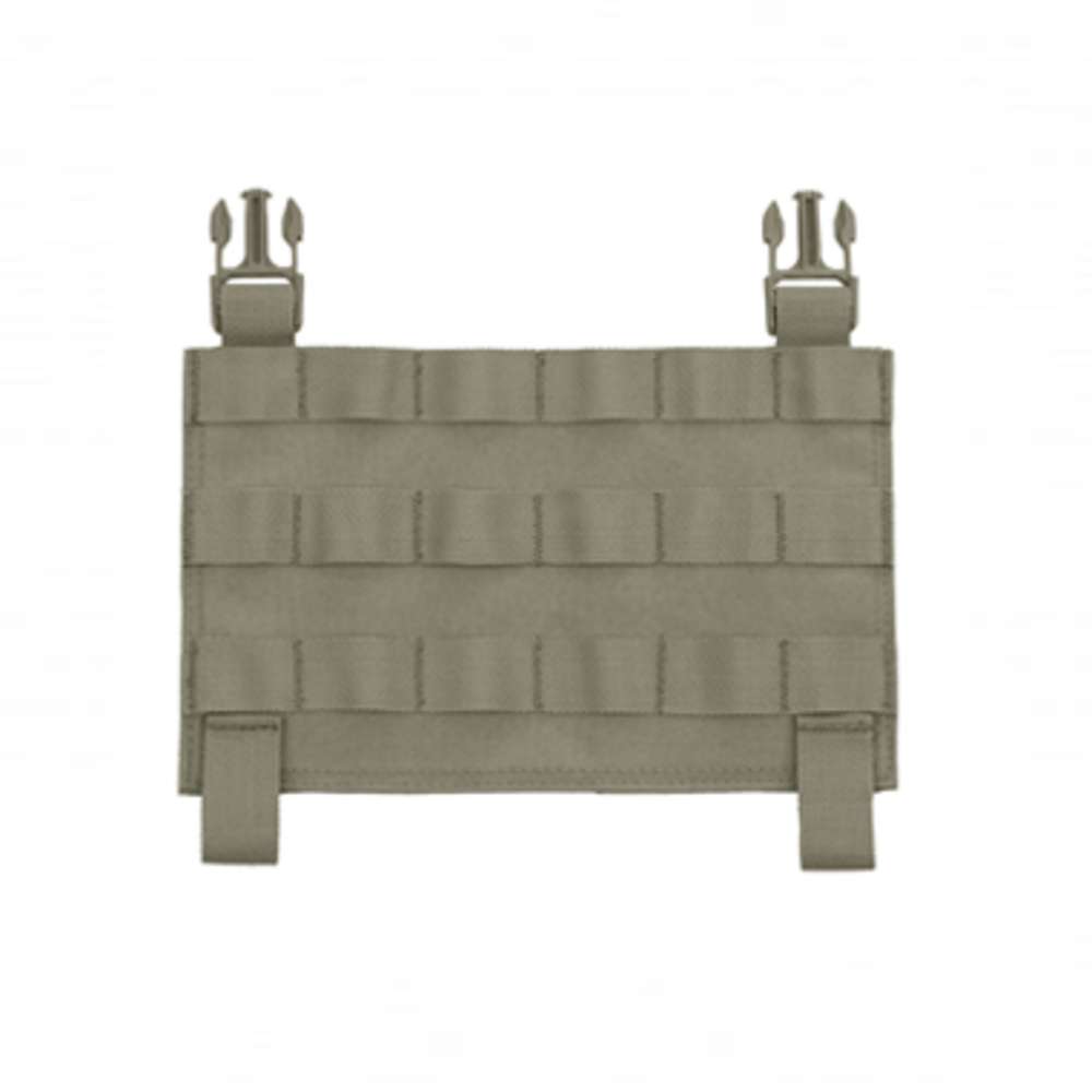 Warrior MOLLE Front Panel for Recon Plate Carrier Ranger Green