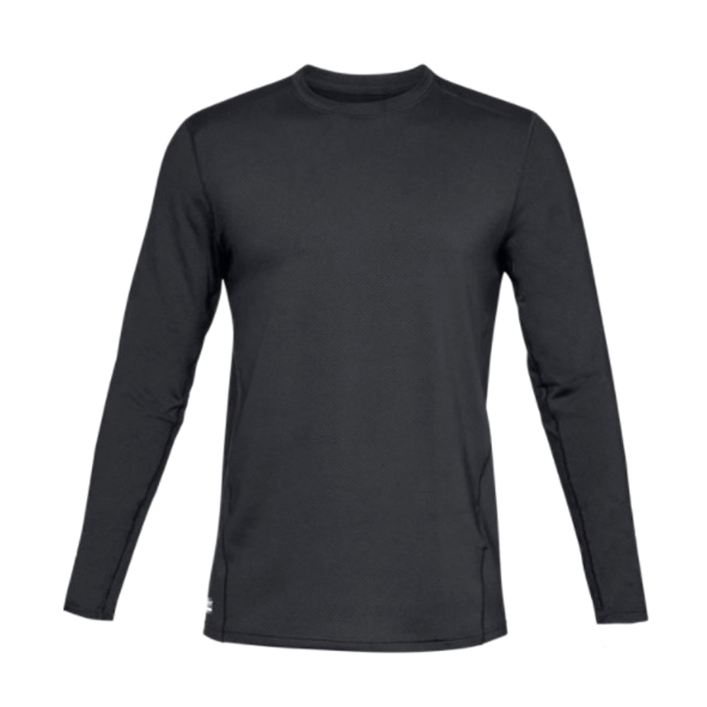 UA Tactical Tee - Crew Base Black