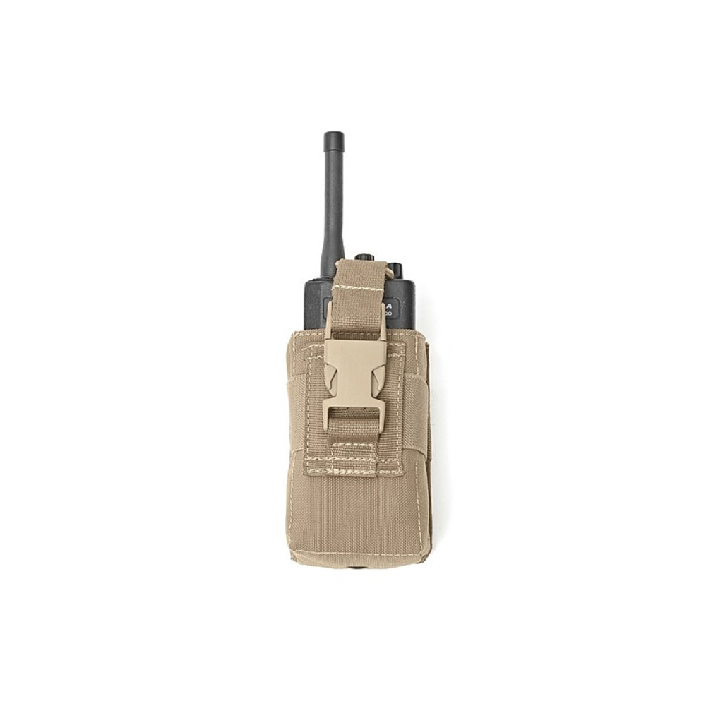 Warrior Adjustable Radio Pouch Coyote Tan