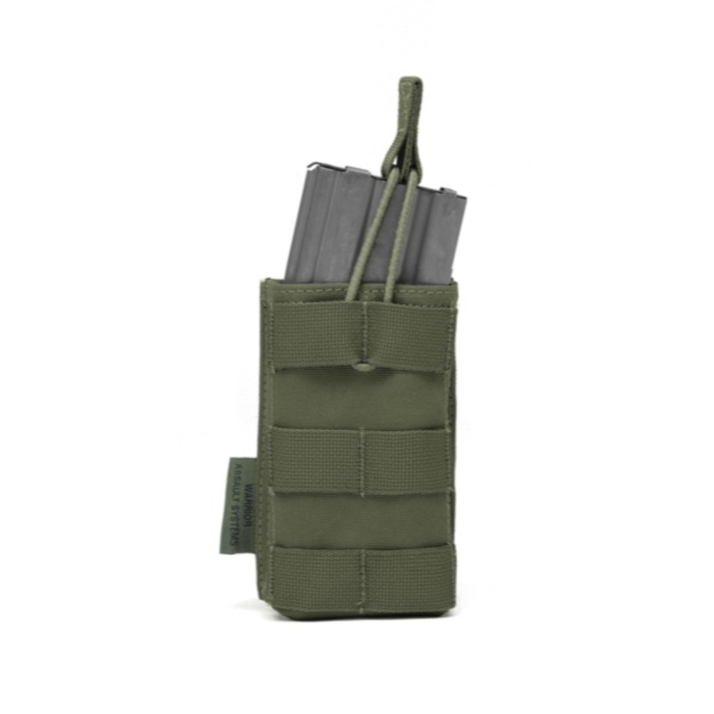 Warrior Single 5.56 Open Mag Pouch Olive Drab