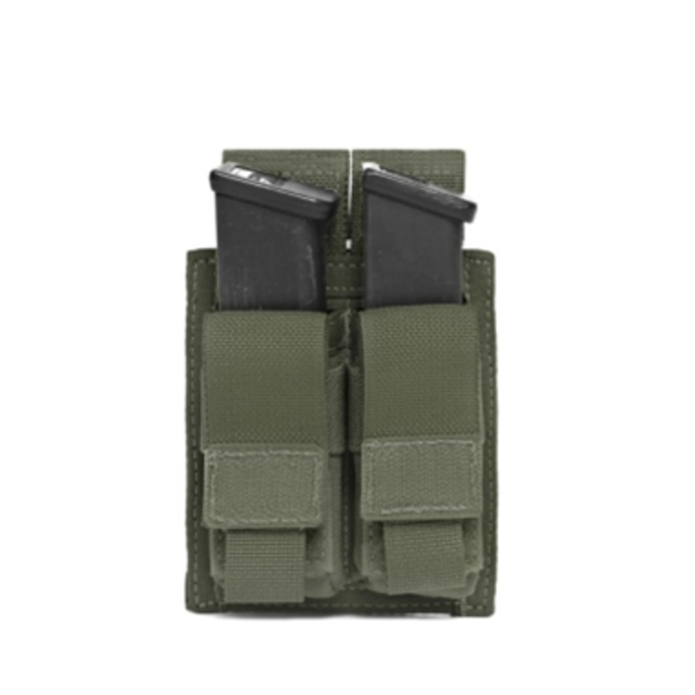 Warrior Double DA 9mm Pistol Olive Drab