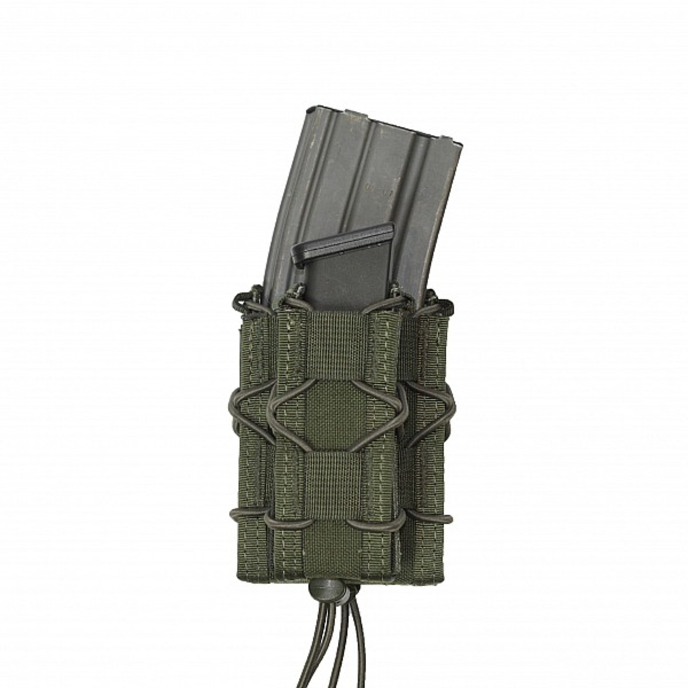 Warrior Single Quick Mag with Single Pistol Pouch Olive Drab