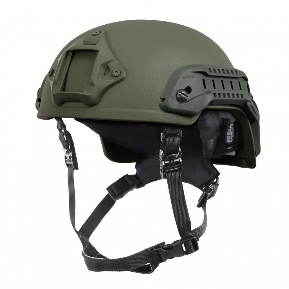 Nexus Olive Green SF M3 Helmet with Rails, NVG Shroud, BOA Dialler and Velcro Medium