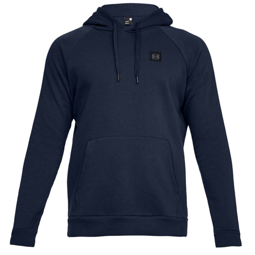 UA Hoodie Rival Fleece P-Over Academy Blue