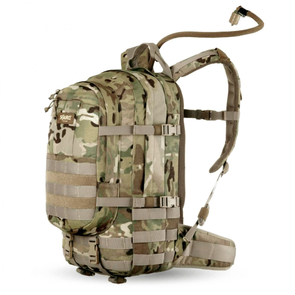 Source Assault 20L Hydration Cargo Pack WXP/WLPS Multicam