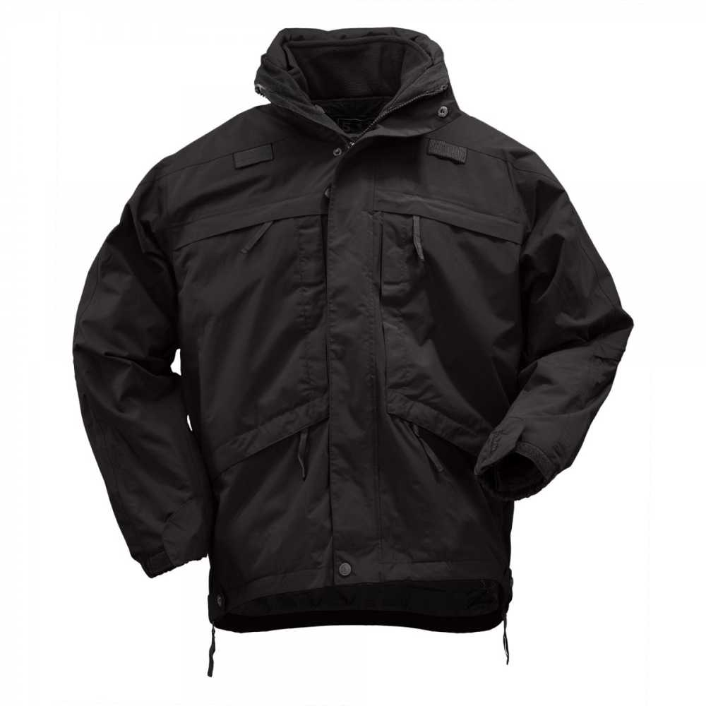 bec086b44 5.11 3-in-1 Parka With Removable Fleece Jacket - Black