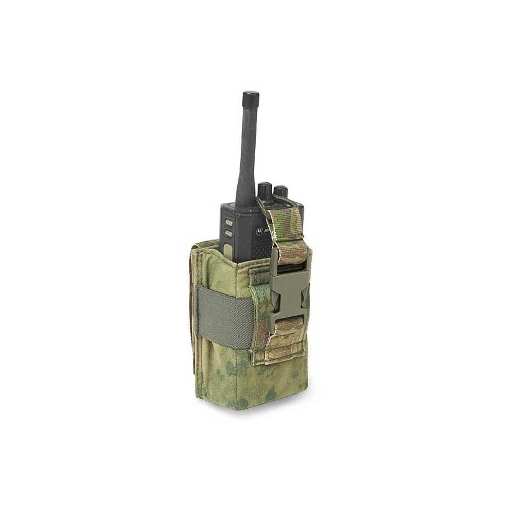 Warrior Adjustable Radio Pouch A-TACS FG