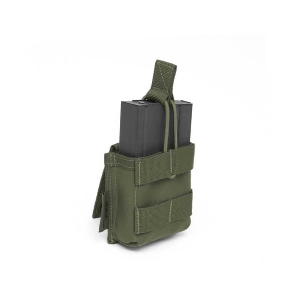 UK Tactical - Warrior G3 Single Open Mag Pouch Olive Drab