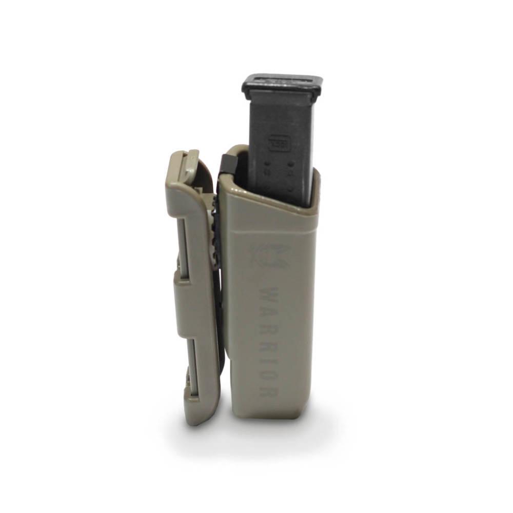 Warrior Assault Systems Polymer 9mm Mag Pouch Dark Earth