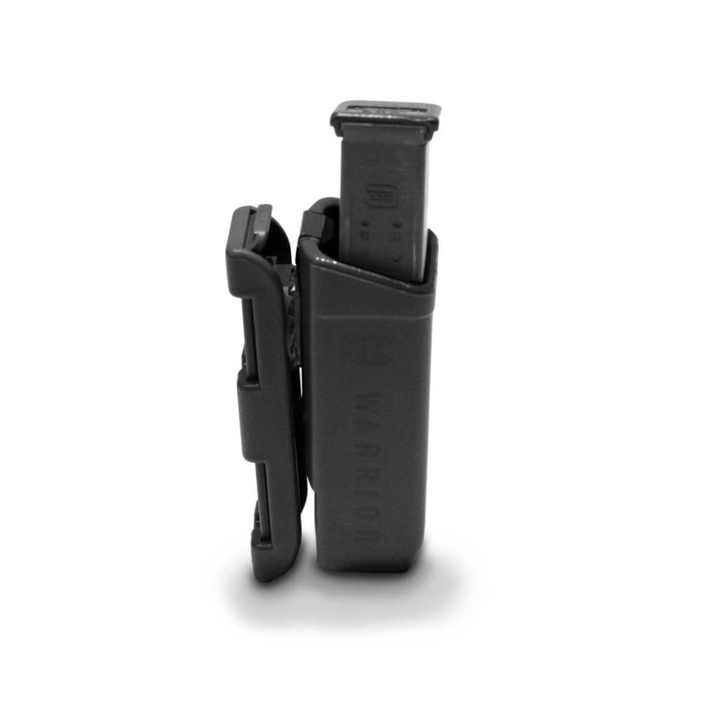 Warrior Assault Systems Polymer 9mm Mag Pouch Black