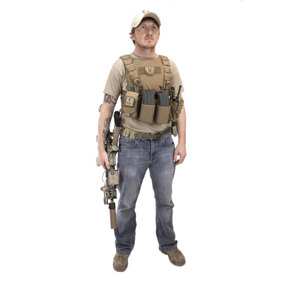 Warrior Pathfinder Chest Rig Coyote Tan