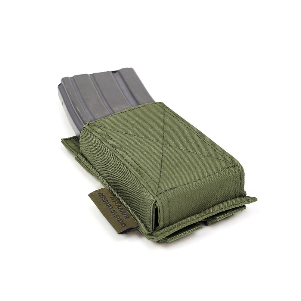 Warrior Single Elastic Mag Pouch Olive Drab