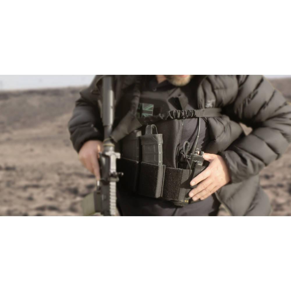 Warrior Covert Plate Carrier Mk1 Black