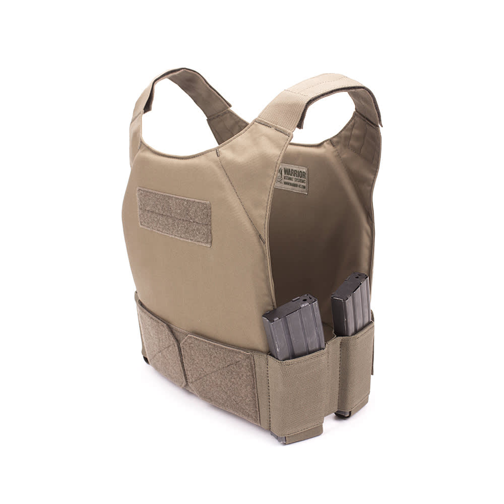 Warrior Covert Plate Carrier - Pathfinder Chest Rig Combo Coyote Tan