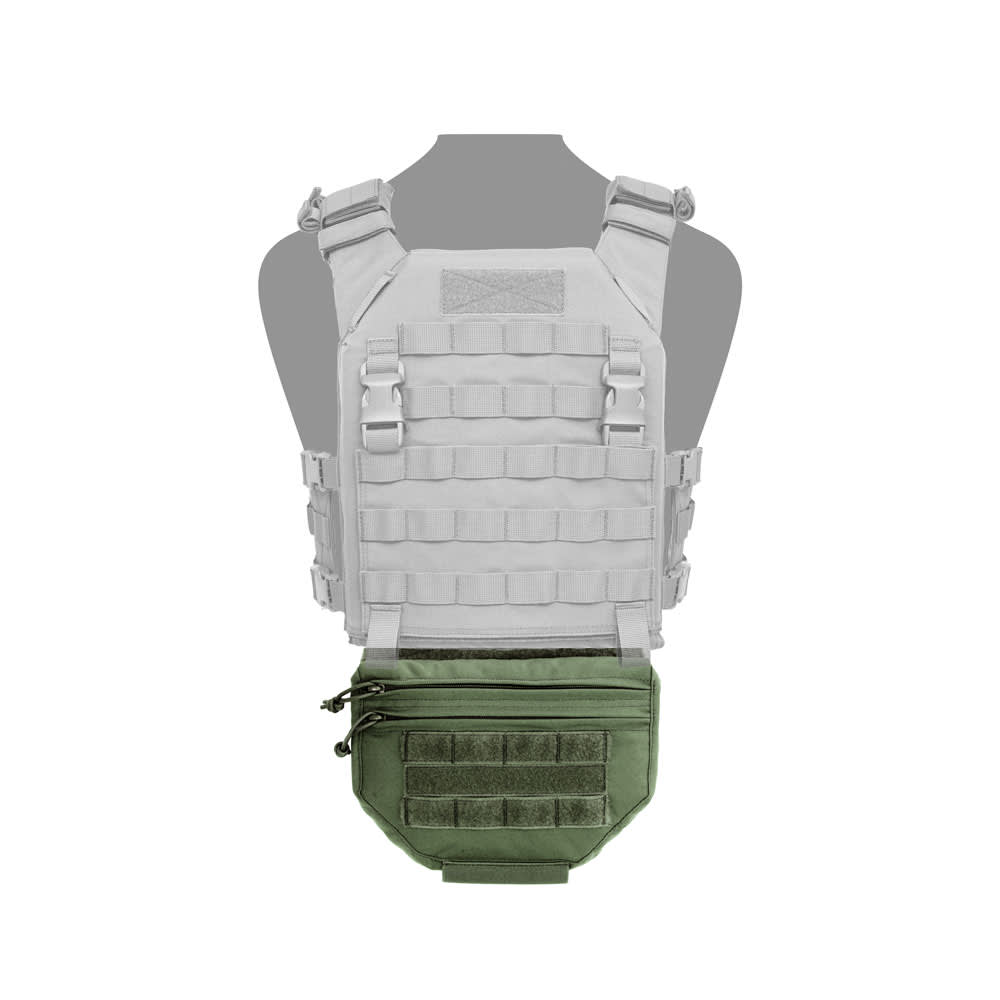 Warrior Drop Down Utility Pouch Olive Drab