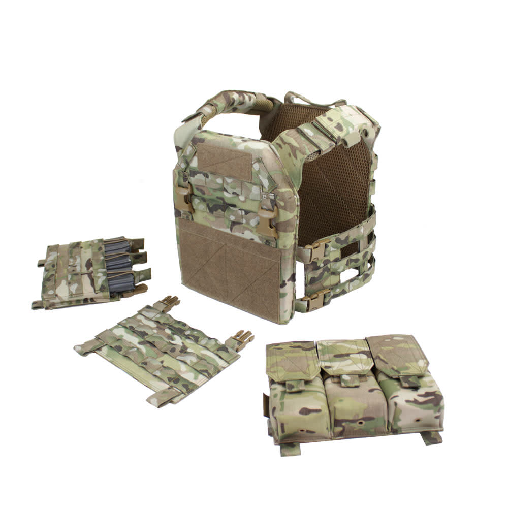 Warrior Removable Triple Covered M4 Pouch for RPC Multicam