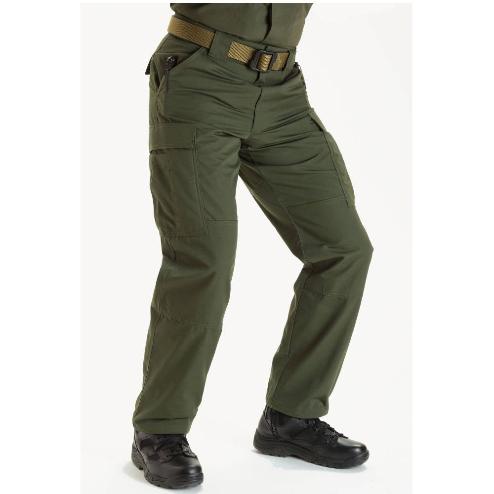 5.11 TDU Pants / Trousers With Ripstop Fabric TDU Green