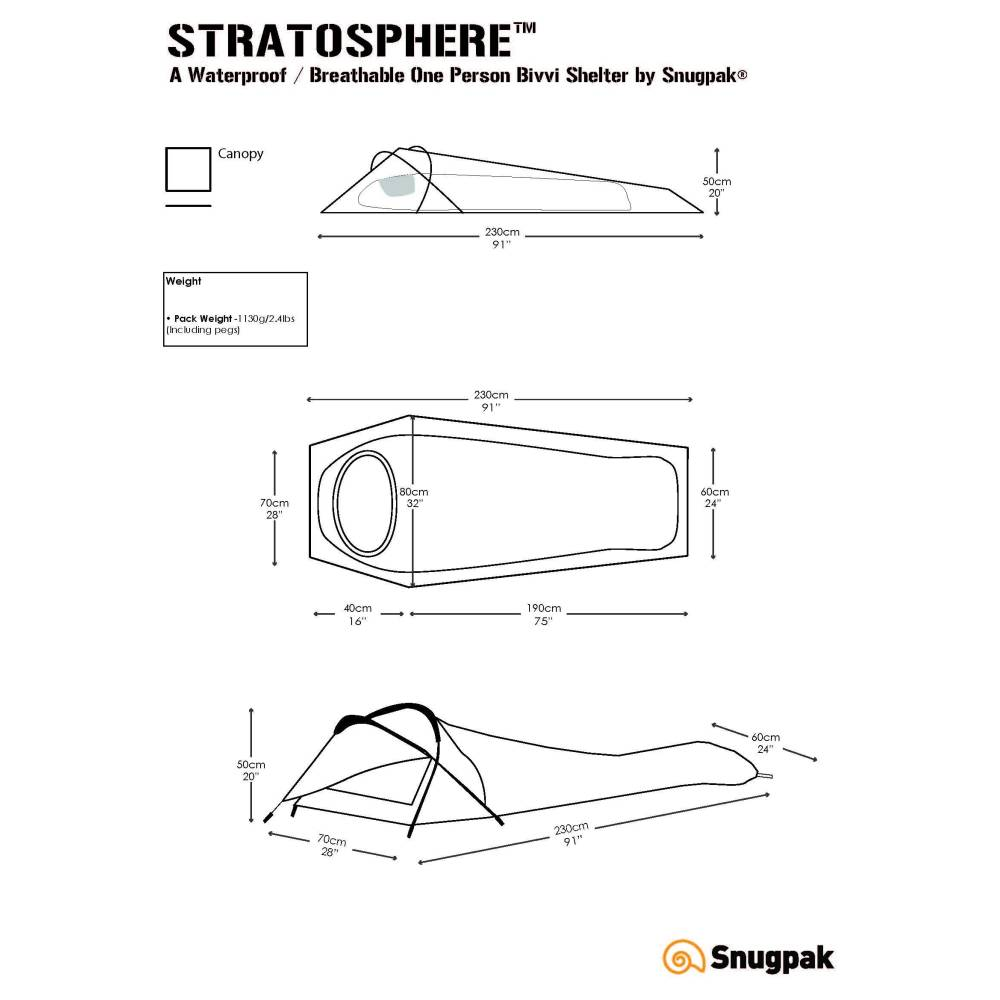 Snugpak Stratosphere Olive