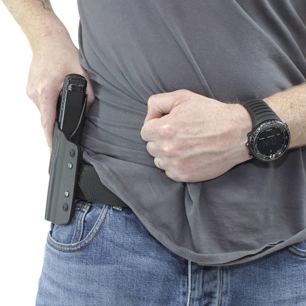 ARES Kydex Holster Glock-17/19 Black