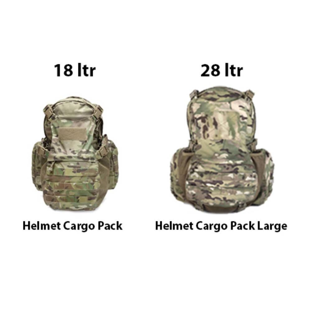Warrior Helmet Cargo Pack Large 28 Litre Muliticam
