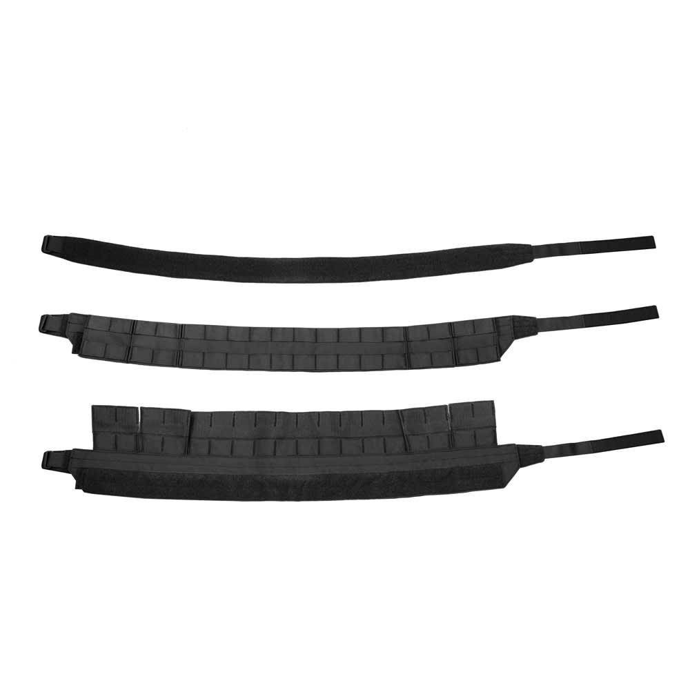 Warrior Low Profile MOLLE Belt Black with Polymer Cobra Belt