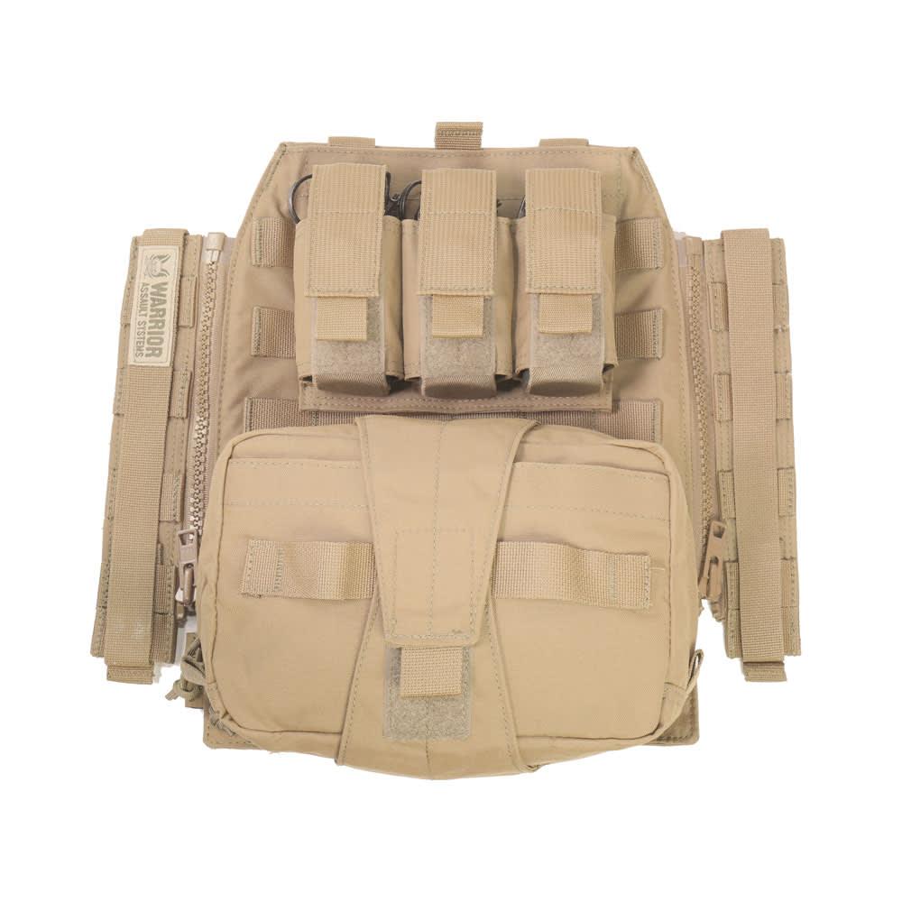 Warrior Assaulters Back Panel Coyote Tan