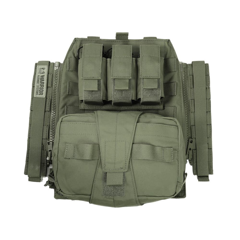 Warrior Assaulters Back Panel OD Green