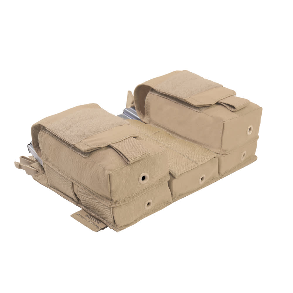 Warrior Detachable Front Panel MK1 (3 x 5.56 Mag Pouches and 2 Utility Pouches) Coyote Tan