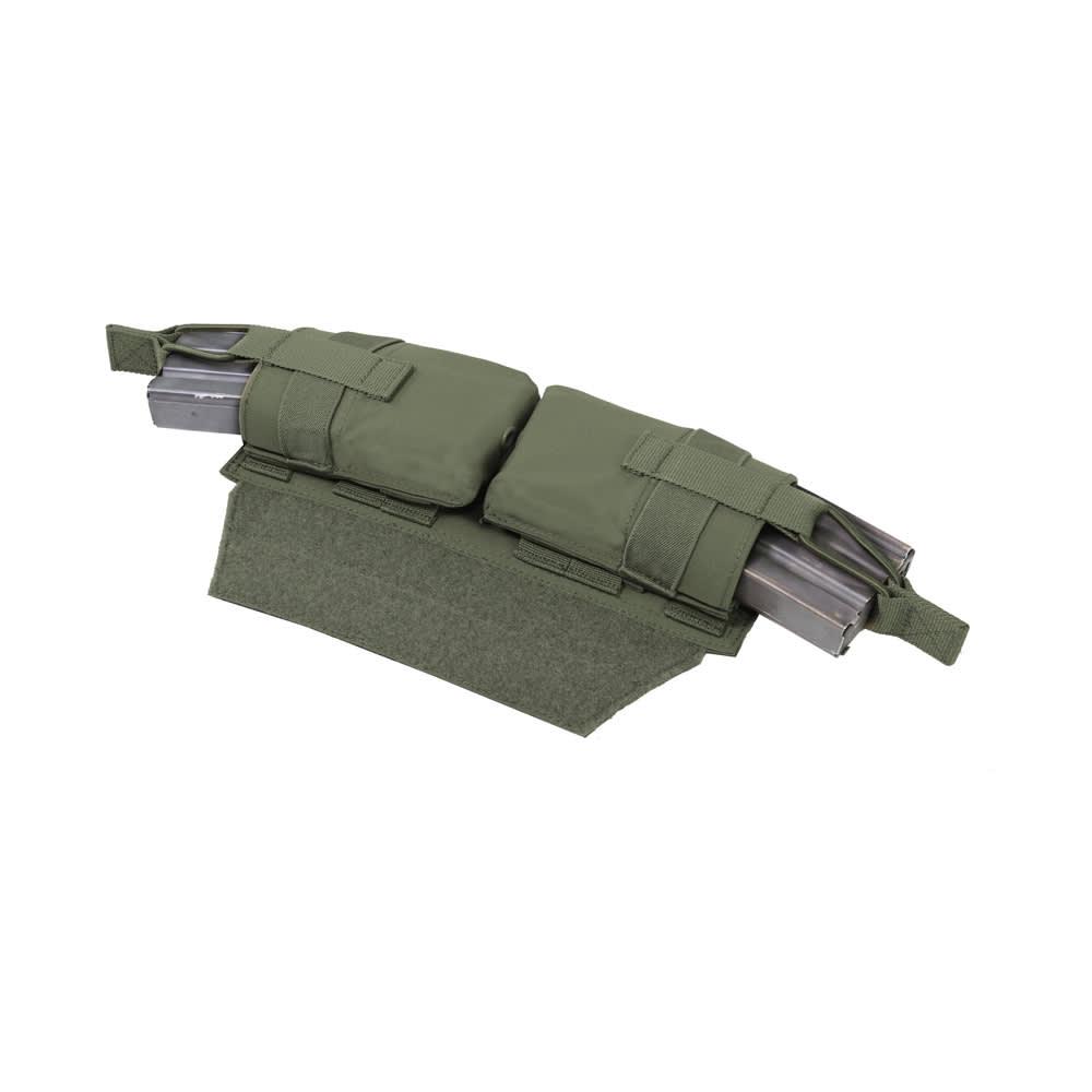 Warrior Horizontal Velcro MOLLE Panel OD Green