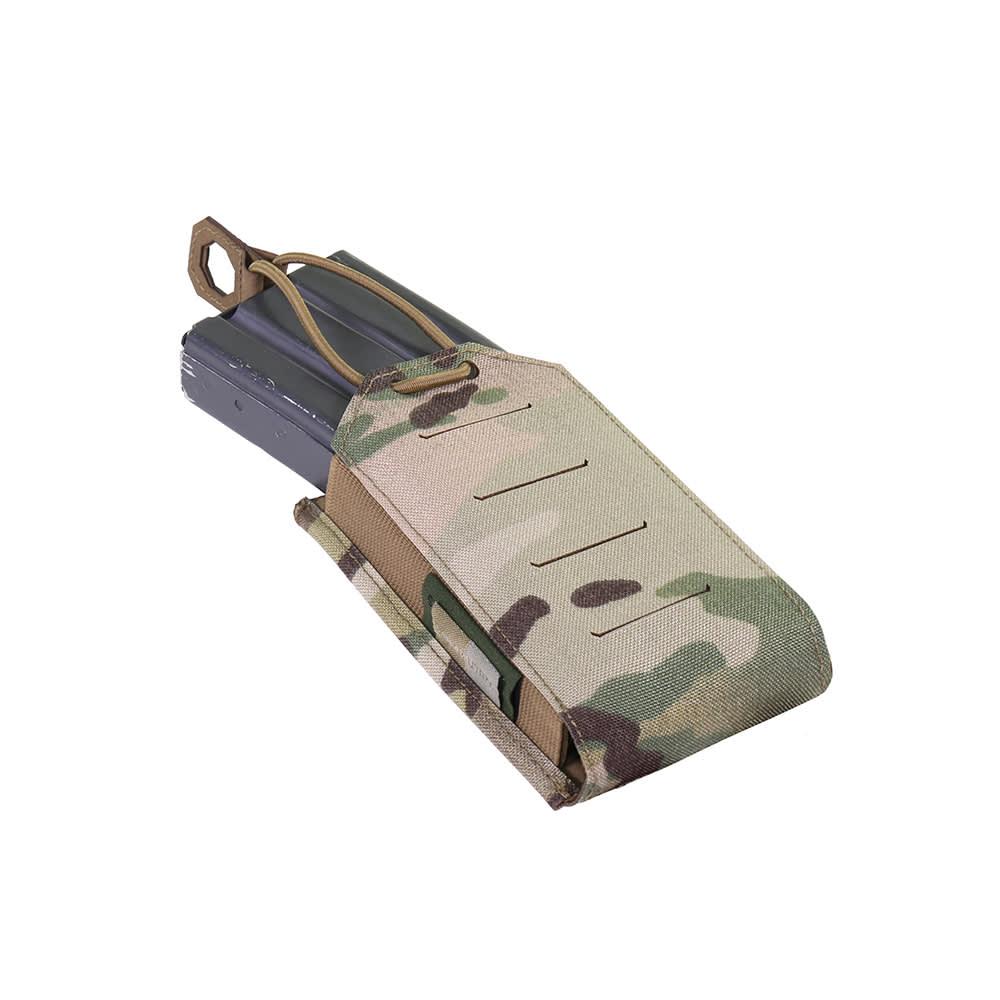 Warrior Laser Cut Single Bungee 5.56 Pouch MultiCam