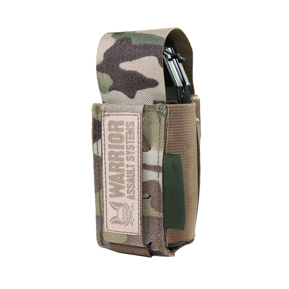 Warrior Laser Cut Single 40mm Flash Bang Pouch MultiCam