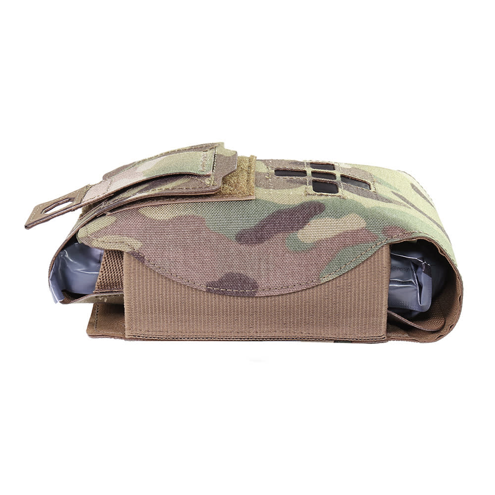 Warrior Laser Cut Small Horizontal Individual First Aid Kit MultiCam