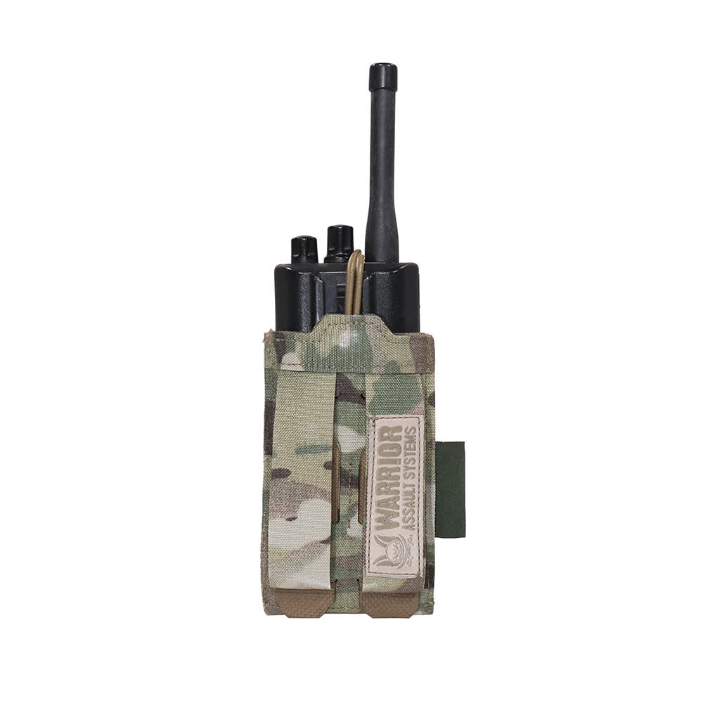 Warrior Laser Cut Adjustable Radio Pouch MultiCam