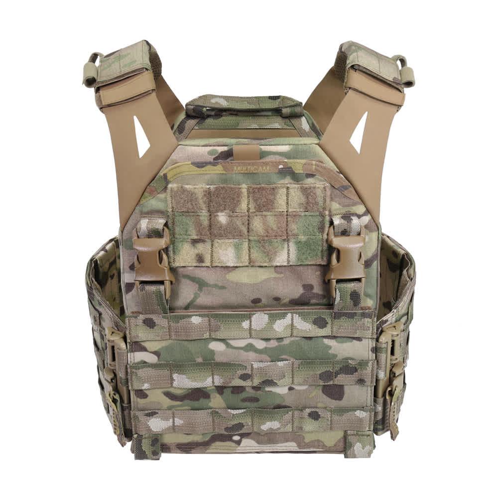 Warrior Low Profile Carrier V1 with Solid Sides MultiCam