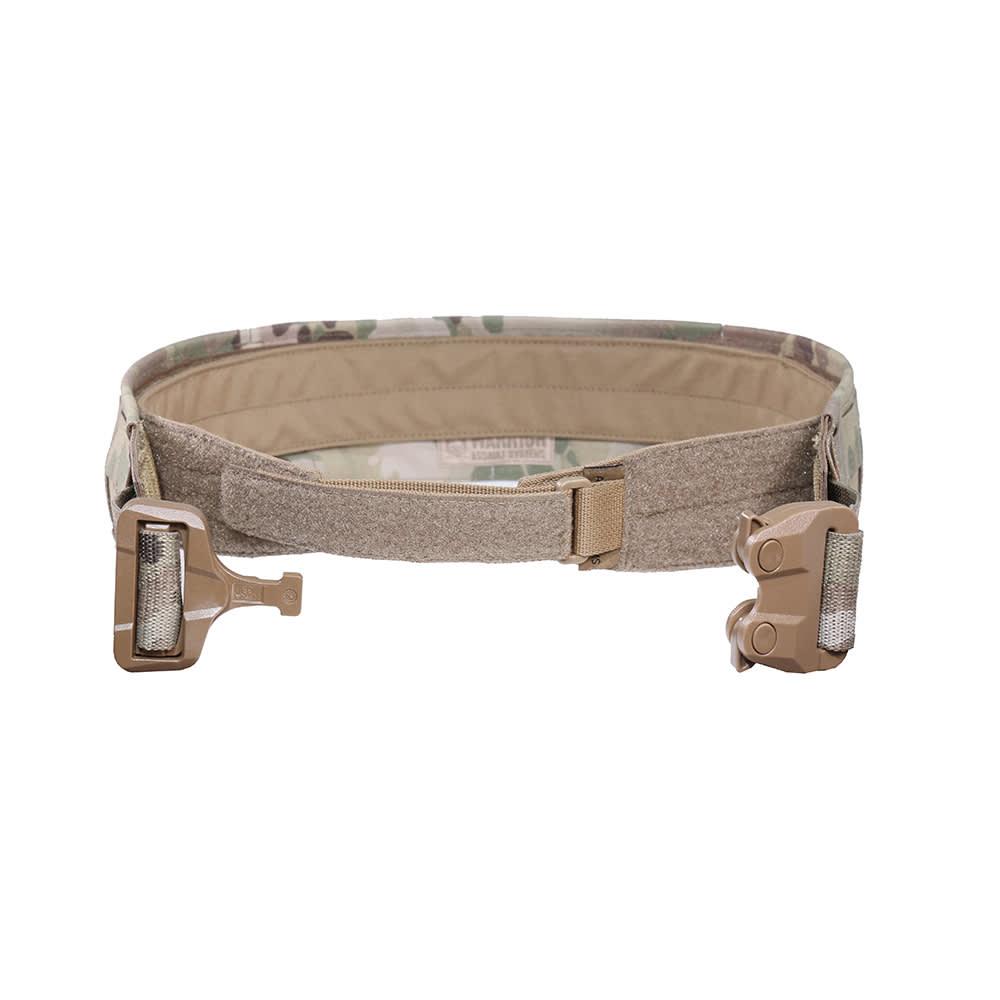 Warrior Low Profile Laser Belt with Polymer Cobra Belt MultiCam