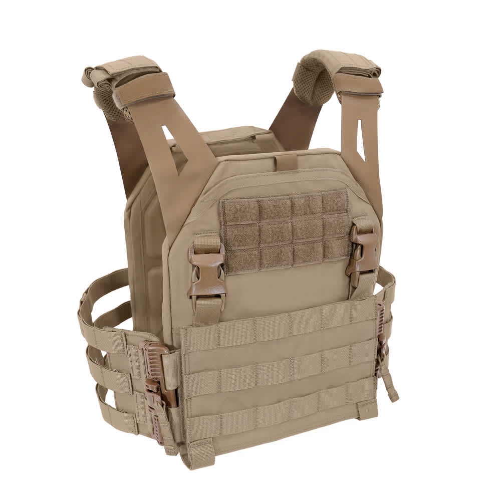 Warrior Low Profile Carrier V2 with Ladder Sides Coyote Tan