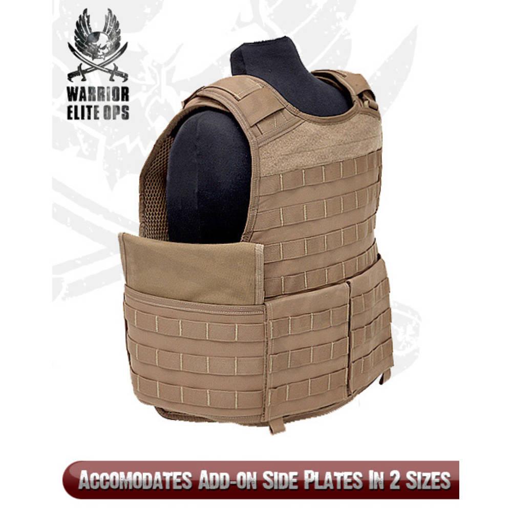 Warrior Elite Ops Raptor Base Medium Coyote Tan