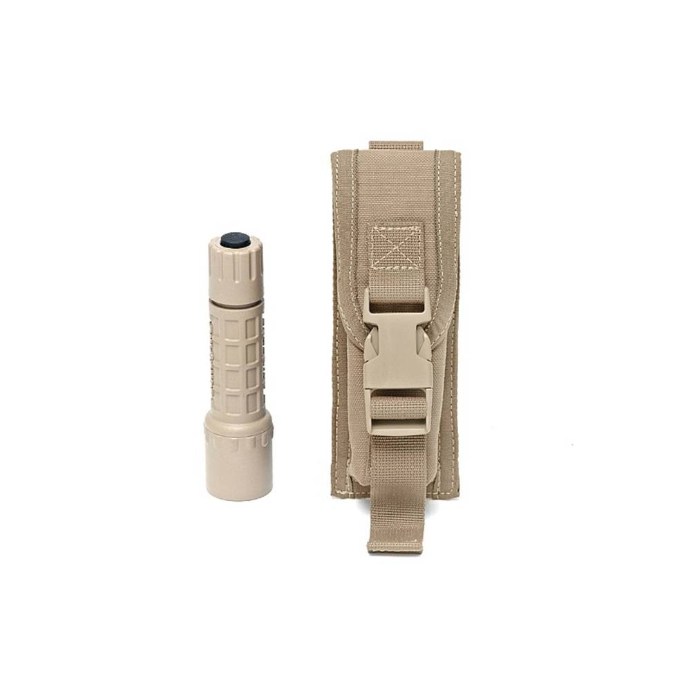 Warrior Small Medium Torch Pouch Coyote Tan