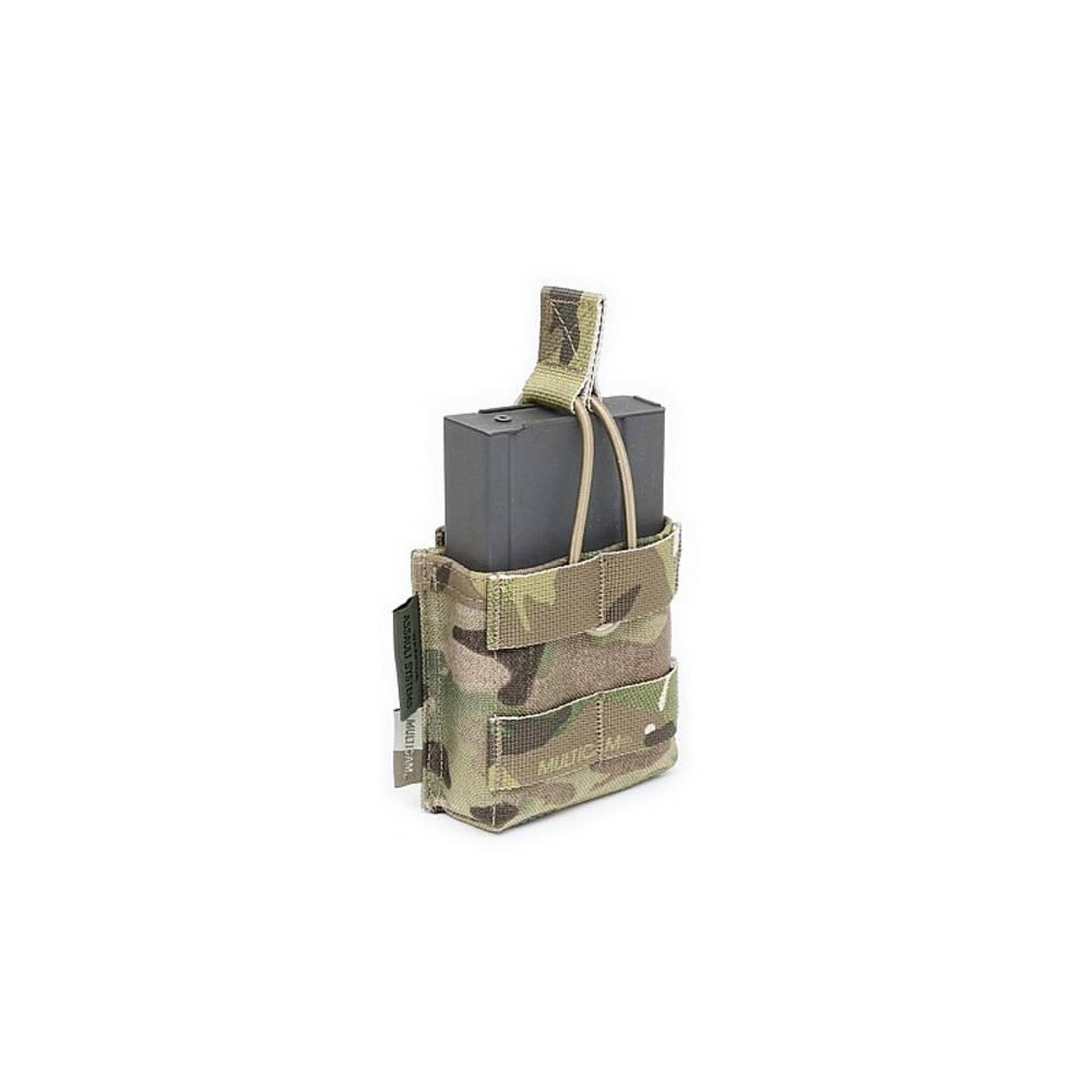 Warrior Single 7.62 x 51mm Open Short Mag Pouch MultiCam