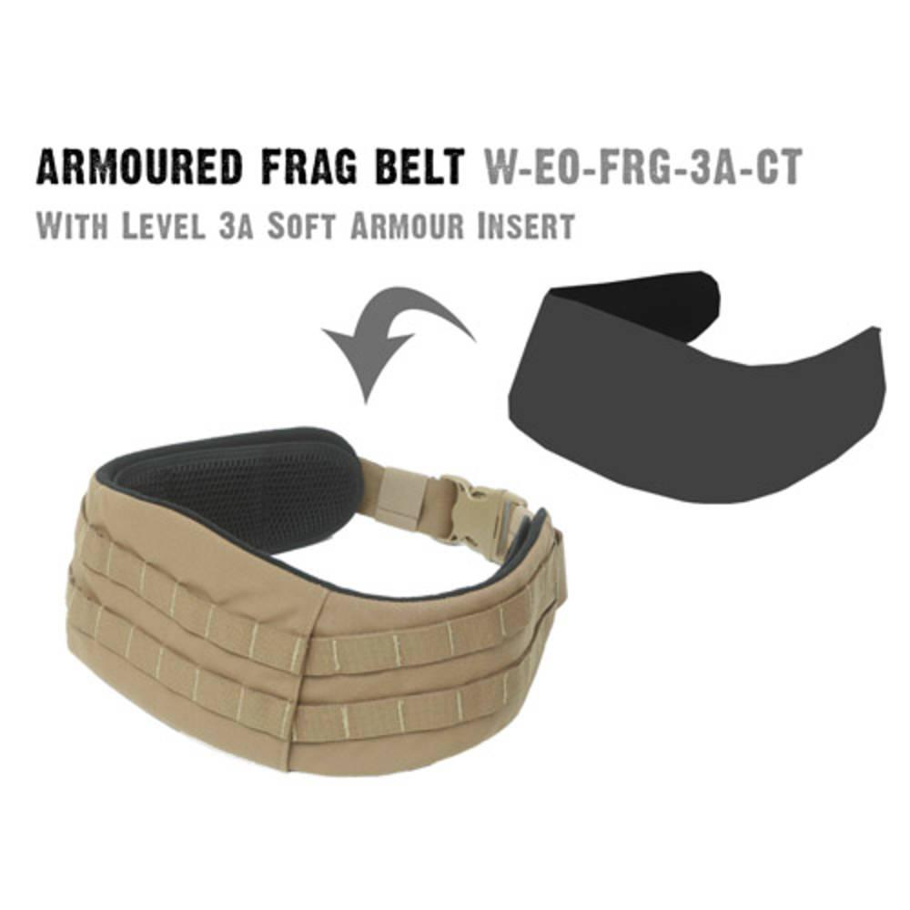 Nexus Frag Belt Level IIIa Armour Insert