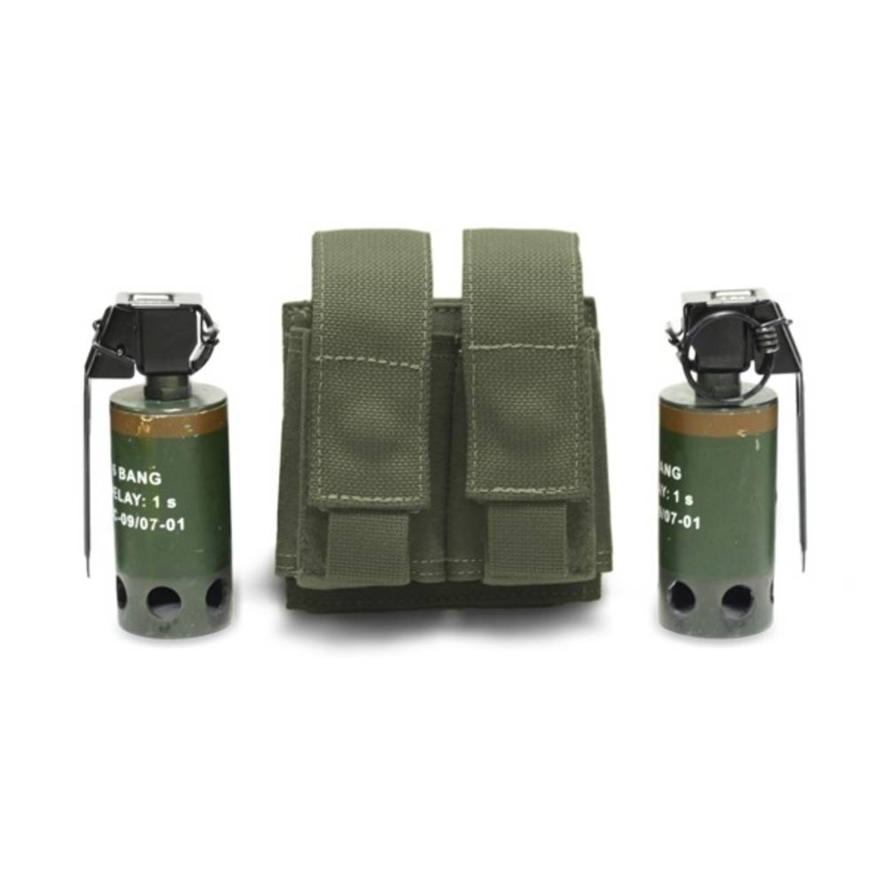 Warrior Double 40mm Grenade Olive Drab