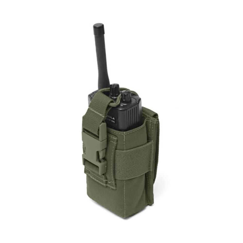 Warrior Adjustable Radio Pouch Olive Drab